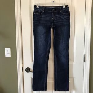 Maurice's Straight Leg Jeans Stretch long inseam